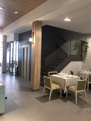 FIXIT-estructuras-metalicas-para-ascensor-Restaurant-Sangiovese-Mataró