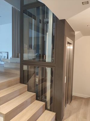 FIXIT-estructuras-metalicas-para-ascensor-Unifamiliar-Sant-Cugat